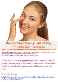 how to make makeup stay on all day at