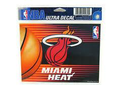 Wincraft Miami Heat Nba Decals For Sale Ebay