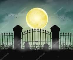 Cemetery Gate Silhouette Cemetery Gate Cemetery Gate Silhouette Theme 2