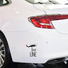 2020 16 15 3cm Nine Line Airplane Vinyl Decal Car Bumper Sticker Handsome And Cool Stickers Car Accessories From Xymy797 4 63 Dhgate Com
