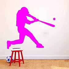 Baseball Wall Decal Vinyl Wall Sticker Boys Room Home Decor Sports Mural Art Home Garden Children S Bedroom Sports Decor Decals Stickers Vinyl Art