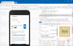 web page with device frame in chrome