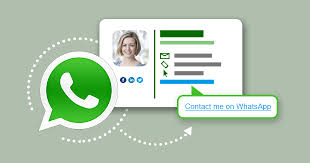 How to create and add a WhatsApp link to emails and email signatures?
