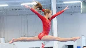 duo strut stuff on dance gymnastic mat