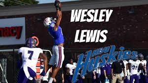 WR|| WESLEY LEWIS|| HBU|| 2016 HIGHLIGHTS - YouTube