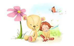 wallpaper bear teddy friend savers