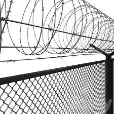 3d Models Other Barbed Wire Fence