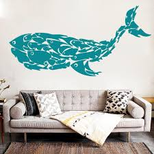 Whale Fish Wall Decal My Turtle And I
