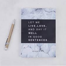 sylvia plath good sentences e