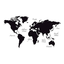 Free Shipping Shop Allmodern For Wallpops World Map Wall Decal Great Deals On All Products With The Bes World Map Wall Decal World Map Wall Map Wall Decal