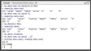 removing columns from r dataframes