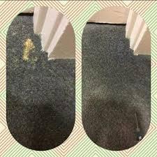 bleach damaged sn recolor carpet