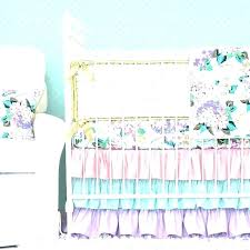 purple baby girl bedding