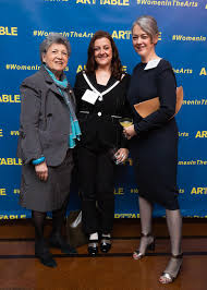 Ada Ciniglio, Joy Glidden, Jennifer Rissler at ArtTable's 25th Annual  Benefit & Award Ceremony / id : 2885647 by Collins Nai/BFA.com