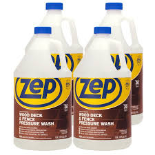 Zep Wood Deck And Fence Pressure Wash Cleaner Concentrate 128 Ounce Zudfw128 Case Of 4 Walmart Com Walmart Com
