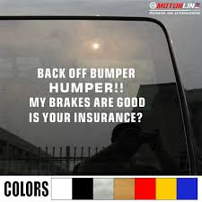 Car Truck Graphics Decals Auto Parts And Vehicles Back Off Bumper Humper Vinyl Decal Sticker Car Back Window My Ass Get Funny Hairli Hr