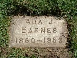 Ada Linda Jull Barnes (1860-1953) - Find A Grave Memorial