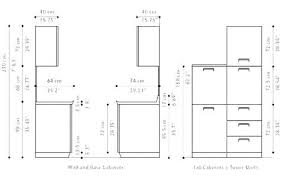 standard kitchen cabinet depth ikea