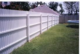 White Privacy 6 Ft Tall 1 Fiberfence Fiberglass Fencing Systems
