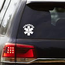 Paramedic Sticker Ems Car Decal Paramedic Decal Medic Etsy
