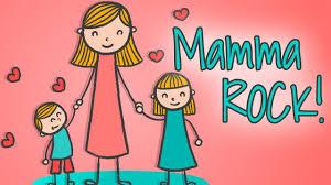 MAMMA ROCK 👩🏼Canzoni per mamme e bambini #festadellamamma ...