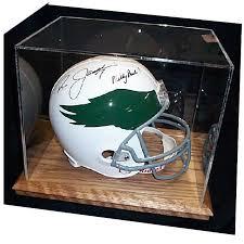 acrylic football helmet display cases
