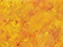 4 abstract acrylic orange yellow