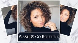 routine for 3b 3c curly hair