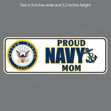 Nv 4012 Proud Navy Mom Bumper Sticker Window Decal Ebay