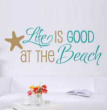 Beach Wall Quotes Quotesgram