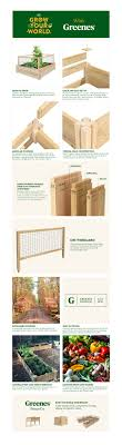 Greenes Fence 4 Ft X 4 Ft X 10 5 In Original Cedar Raised Garden Bed With Critterguard Fence System Rc4t12bcg The Home Depot
