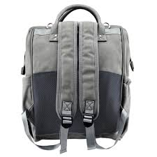 Isoki Nappy Backpack Byron stone - KJ Essentials for baby