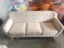 fabric couch lounger chair modern grey