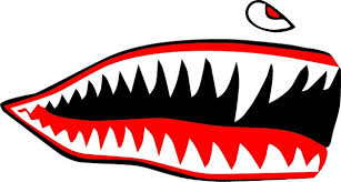 Shark Teeth Decal Sticker 20