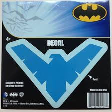 Dc Nightwing Logo Emblem Blue Car Window Sticker Decal 5 Robin Batman Boy Ebay