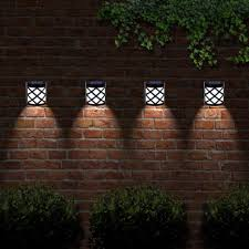 6 X Solalite 6 Led Decorative Wireless Garden Solar Lights Weatherproof Outdoor Fence Lamps 6 On Onbuy
