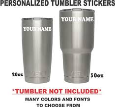 Custom Tumbler Decals Thisguysdecals