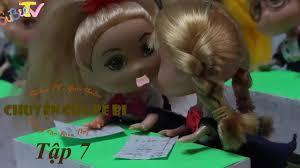Hoạt hình búp bê: Tập 7: Bé Bi bị điểm kém (Chuyện của Bé Bi ...