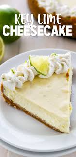 key lime cheesecake crazy for crust