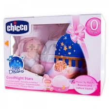 chicco good night stars 0m rosa