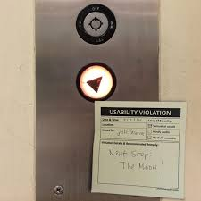 """wendy nyx on Twitter: """".@PrimitiveSpark #Elevator goes wild! Maybe it's  like the ones from #HarryPotter #UsabilityViolation @jvacarra  http://t.co/E16YRyqkmJ"""""""