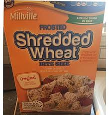 millville frosted shredded wheat cereal