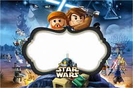 Star Wars Lego Invitaciones Para Imprimir Gratis Oh My Fiesta