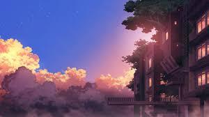 1366x768 anime landscape