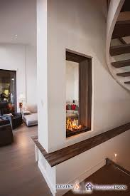 sky t see through gas fireplace