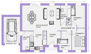 plans maisons plain pied gratuits