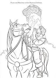 Rapunzel Kleurplaten Sprookjes Paarden
