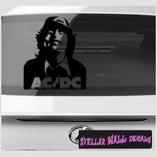 Acdc Head Band Music Vinyl Wall Decal Wall Mural Car Sticker Swd