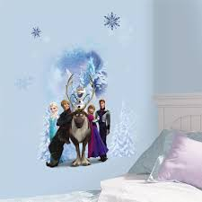 Roommates 5 In X 19 In Frozen Peel And Stick Wall Decals Rmk2361scs The Home Depot