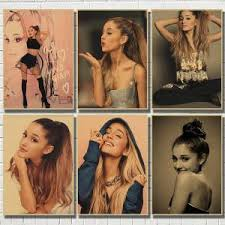 Hot Sale E659 Sexy Ariana Grande Poster Wall Pictures For Living Room Home Decoration Decor Ariana Grande Wall Sticker Room Decor Cicig Co